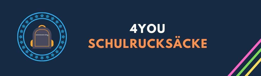 4YOU Schulrucksack